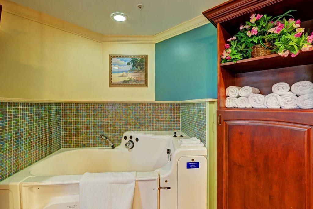 Care Center Private Bath