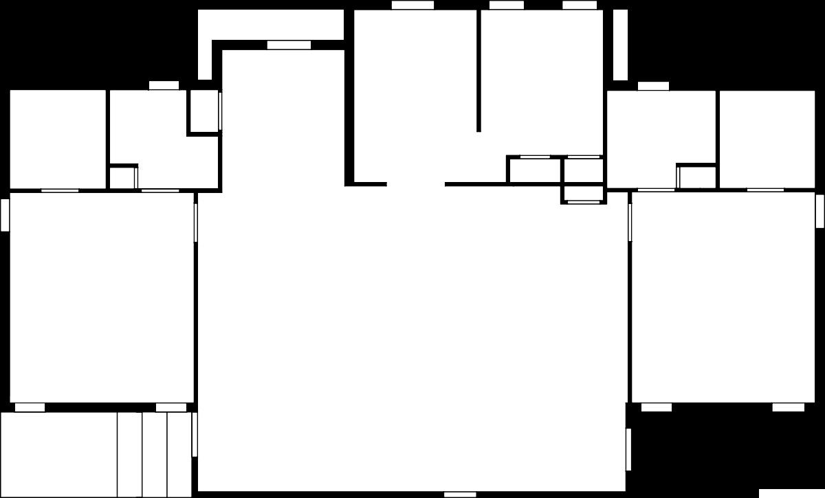 Garden 2D Floor Plan