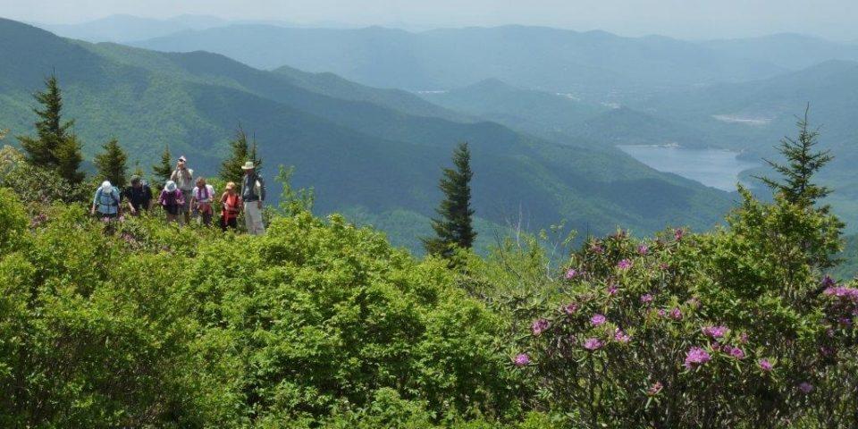 Jeanne Reno Hiking View