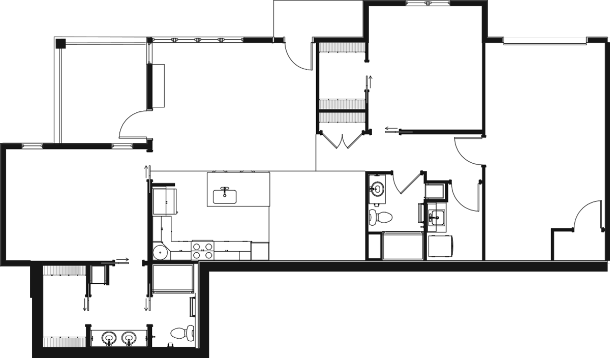Clear Creek 2D Floor Plan