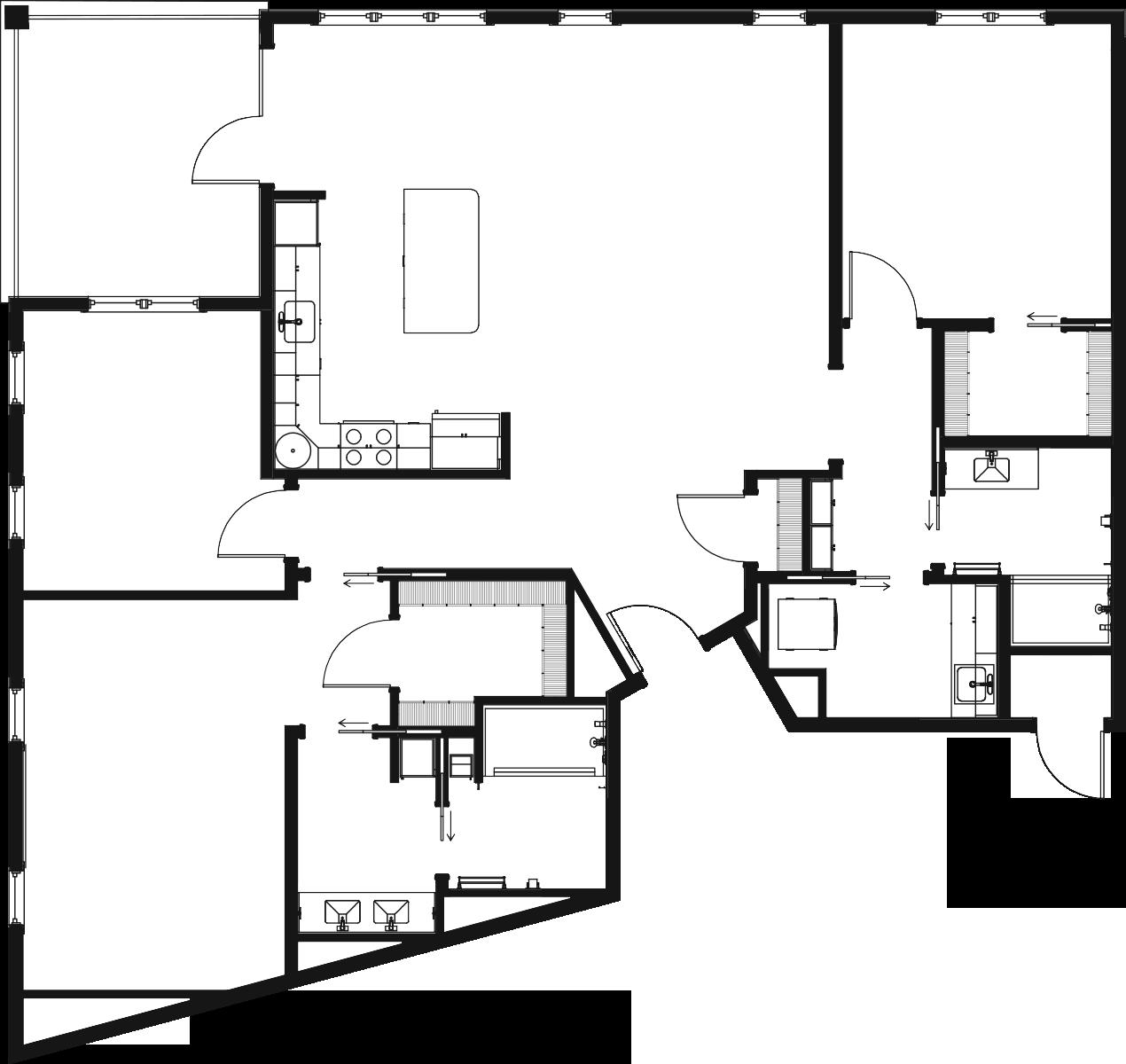 Smoky Mountain 2D Floor Plan